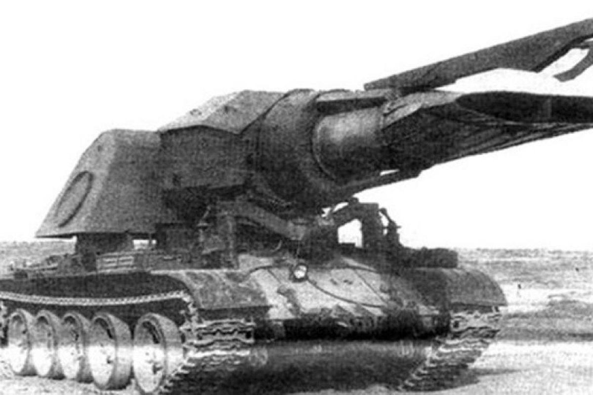 El taque con un motor de un jet supersónico: el Progvev-T soviético tenía montado en su torreta nada menos que el motor de un jet MIG. Su objetivo era destruir minas a través de la ondas de calor que producía. Nunca se usó.. Imagen Por: