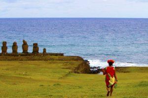 """En la convención """"Our Ocean"""" la Presidenta Bachelet se comprometió a trabajar para la creación de la zona protegida Rapa Nui. Foto:Agencia UNO. Imagen Por:"""