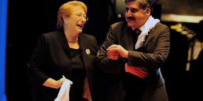 Presidenta Bachelet inauguró fondas con rimas sobre su gestión