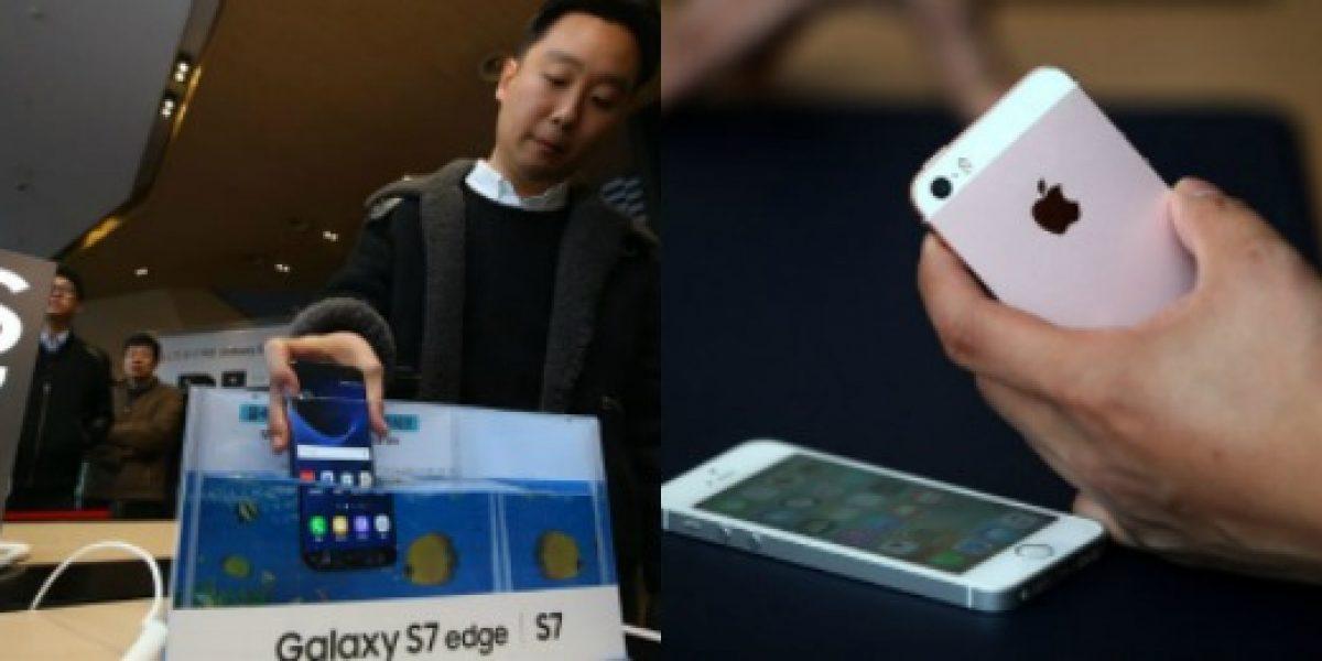 Samsung y Apple no logran vencer a las empresas locales en China
