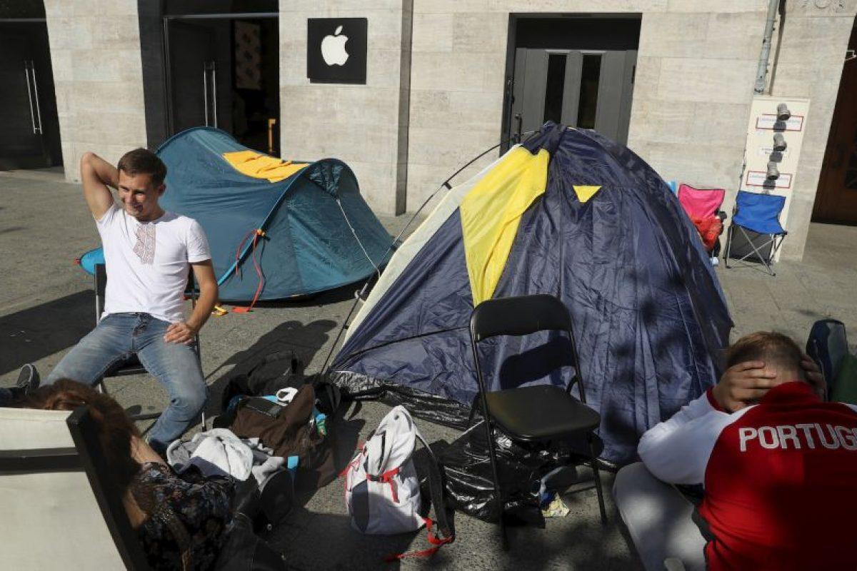Getty Images Foto:En Alemania, se reportan filas desde hace dos días. Imagen Por: