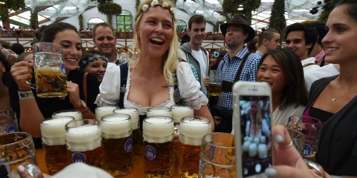Munich inaugura la mayor fiesta de la cerveza del mundo bajo altas medidas de seguridad
