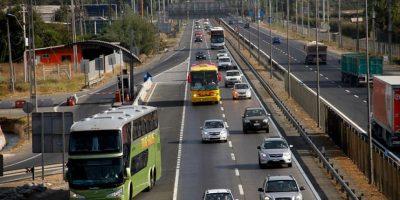 91 mil vehículos han salido desde Santiago por estas Fiestas Patrias