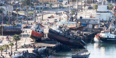 Terremoto 8,4 Richer en Coquimbo produjo más de 4.200 réplicas