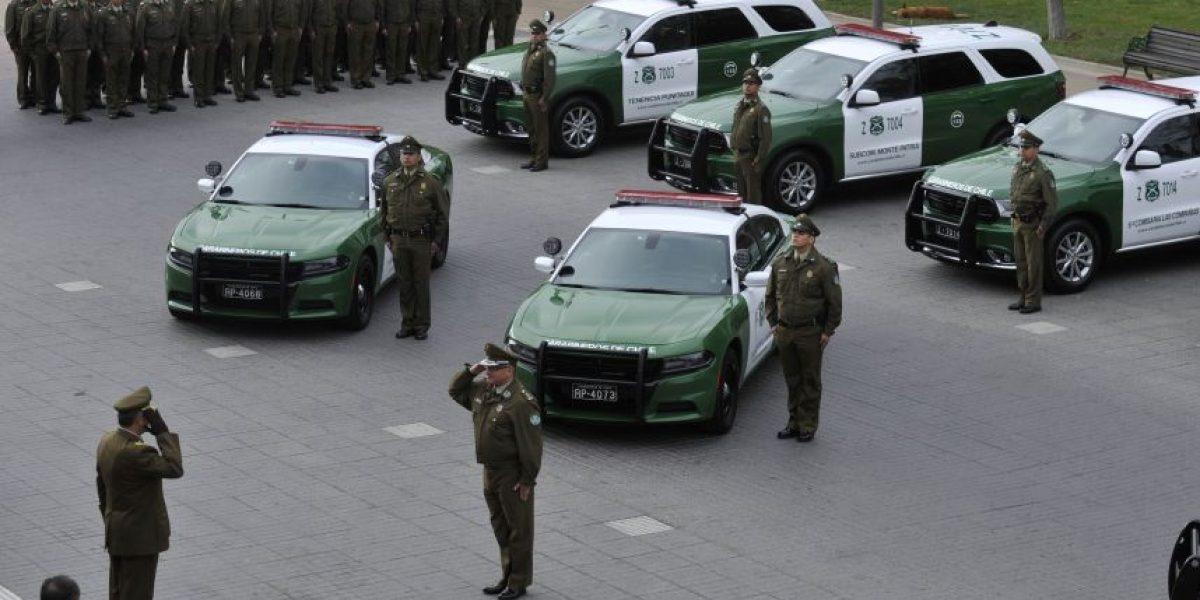 Carabineros de la Región de Coquimbo recibieron modernos vehículos
