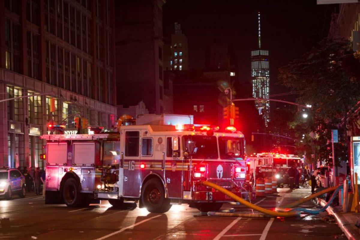 La explosión se registró a dos días de que líderes mundiales encabezados por el presidente Barack Obama converjan en Nueva York para la Asamblea Anual, la cual normalmente transcurre blindada por draconianas medidas de seguridad. Foto:Afp. Imagen Por: