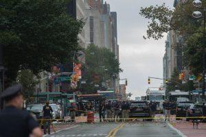 El estallido se registró frente al edificio del número 131 de la calle 23 Oeste del elegante barrio de Chelsea. Foto:Afp. Imagen Por: