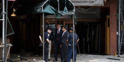 Así quedó la calle tras la explosión que dejó 29 heridos en Nueva York
