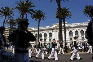 Tradicional desfile de Valparaiso se declarará como patrimonio cultural inmaterial de la ciudad. Foto:ATON. Imagen Por: