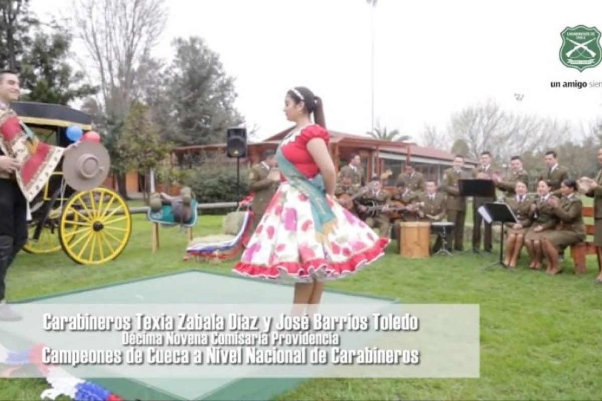 Foto:Reproducción / YouTube Carabineros de Chile. Imagen Por: