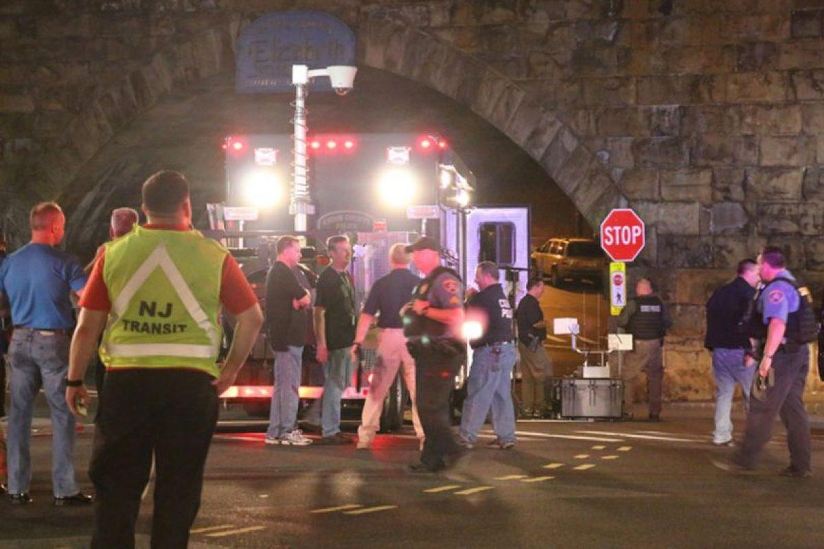 AP Foto:El paquete sospechoso que explotó en Elizabeth, Nueva Jersey.. Imagen Por: