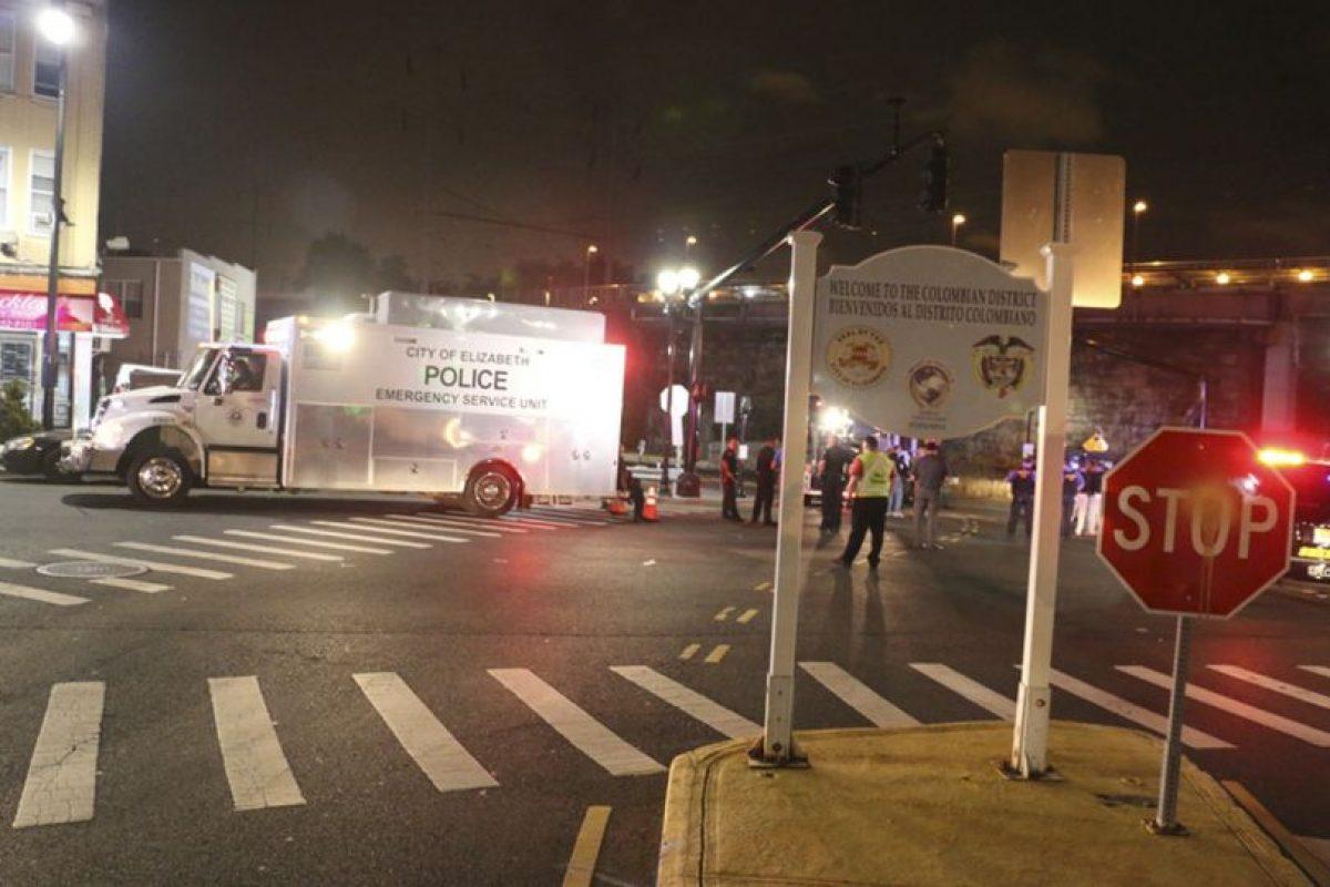 AP Foto:La bomba colocada en Elizabeth, Nueva Jersey.. Imagen Por: