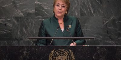 Bachelet en la ONU: