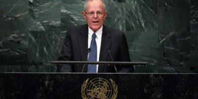 Presidente de Perú pide en la ONU diálogo político interno por Venezuela