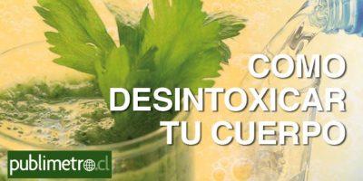 Infografía: cómo desintoxicar tu cuerpo