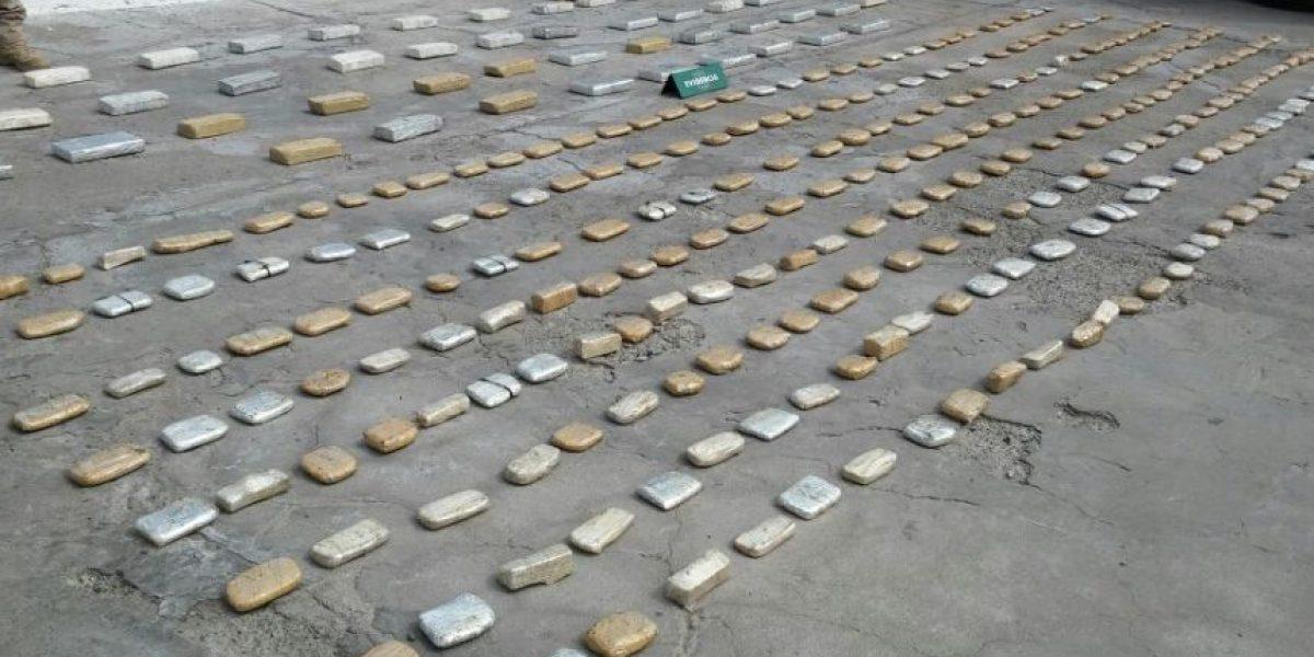Operativo de Carabineros incautó dos mil millones de pesos en droga con destino a Santiago