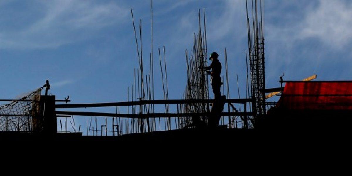 Construcción anota en julio el menor crecimiento promedio anual de últimos 5 años
