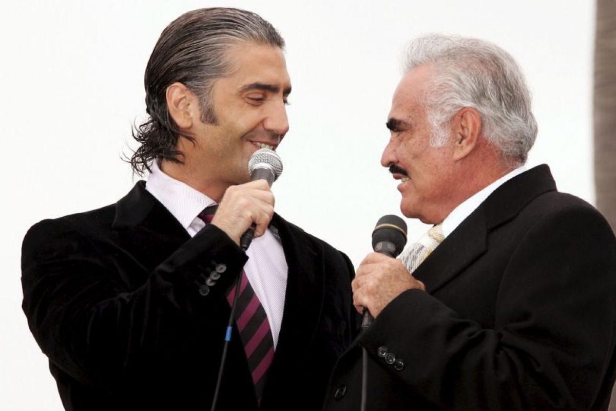 Vicente Fernández tiene 76 años Foto:Getty Images. Imagen Por: