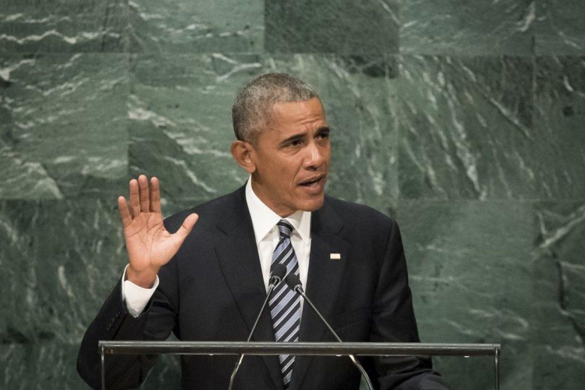 También habló sobre el acuerdo climático de París Foto:Getty Images. Imagen Por: