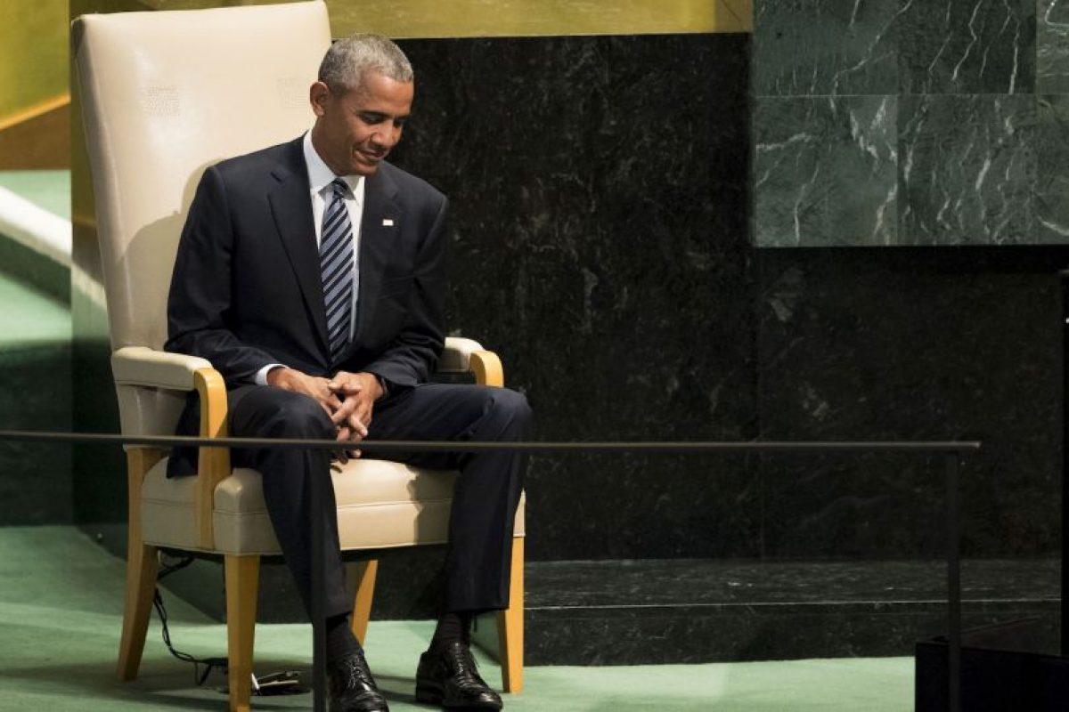 También criticó a los gobiernos de Rusia y de Corea del Norte Foto:Getty Images. Imagen Por: