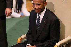 El mandatario estadounidense acudió a su última Asamblea General de las Naciones Unidas Foto:Getty Images. Imagen Por: