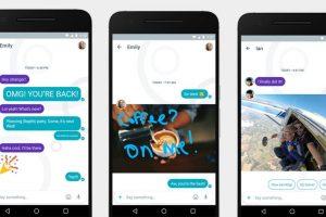 La aplicación de mensajería instantántea cuenta con inteligencia artificial, permite hacer planes, a encontrar información y a expresarte con muchos 'emojis'. Foto:Reproducción. Imagen Por: