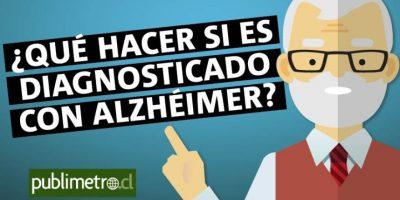 Infografía: ¿Qué hacer si eres diagnosticado con alzhéimer?