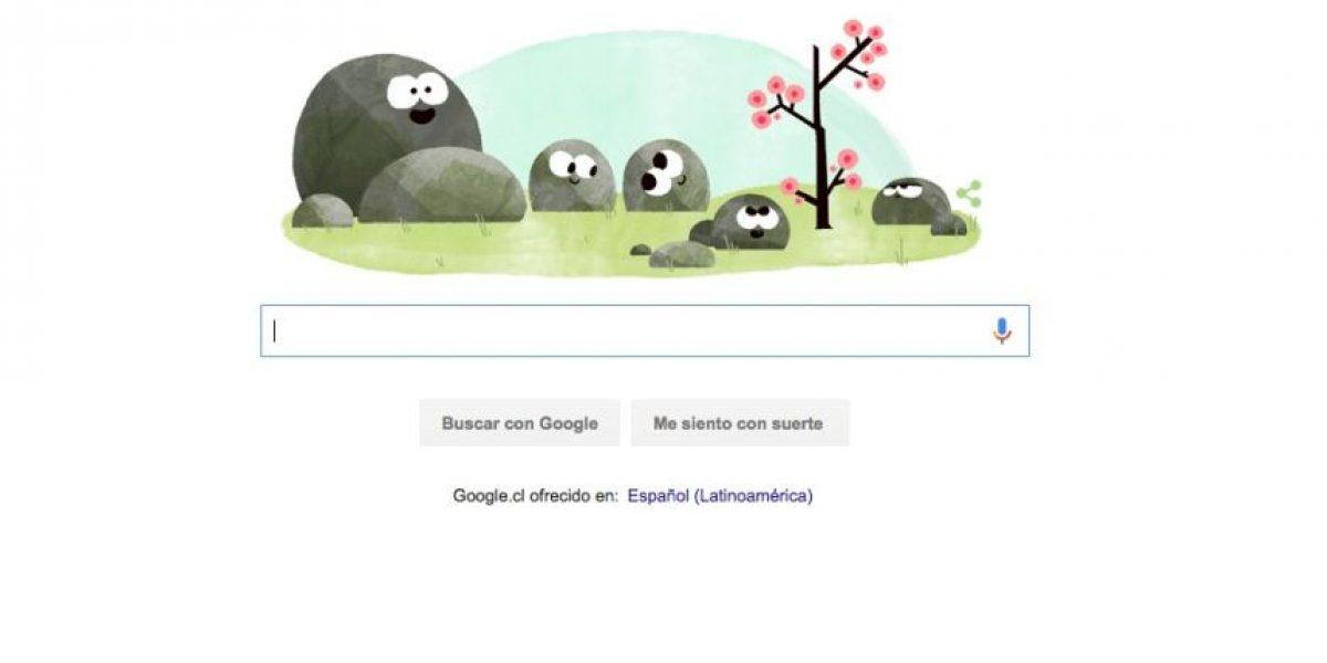 Con este doodle animado Google nos recuerda la llegada de la primavera