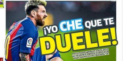 En Perú festinaron con la lesión de Lionel Messi