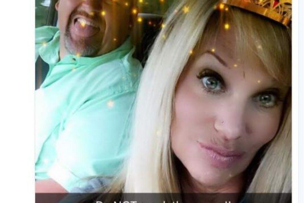 Shelly Duncan, de 48 años Foto:Snapchat. Imagen Por: