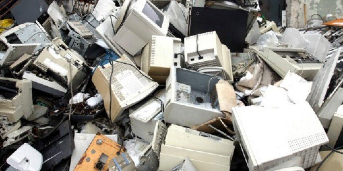 Chile es de los países que más aporta en basura tecnológica