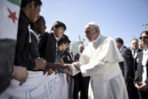 Y estuvo en un campo de refugiados en Grecia Foto:Getty Images. Imagen Por: