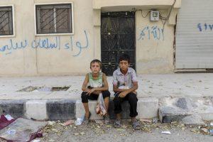 Según UNICEF, el 80 de los niños ha sido afectado Foto:Getty Images. Imagen Por: