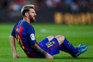 El argentino se lesionó en el partido ante Atlético de Madrid. Foto:Getty Images. Imagen Por: