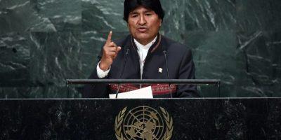 Evo Morales acusa a Chile en la ONU de