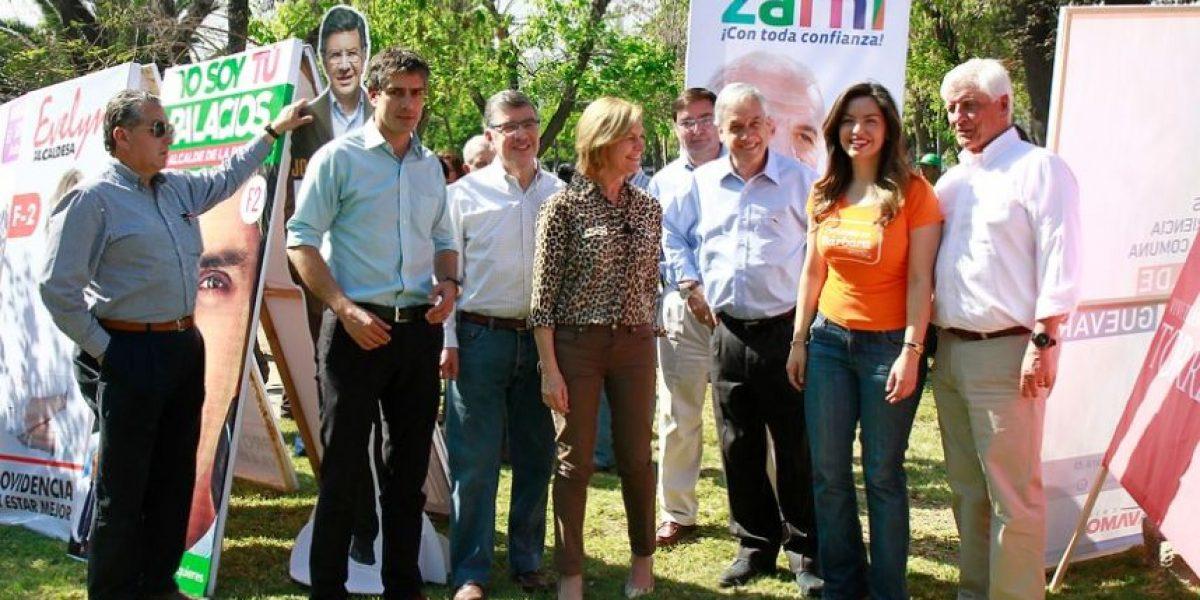 Piñera por municipales: