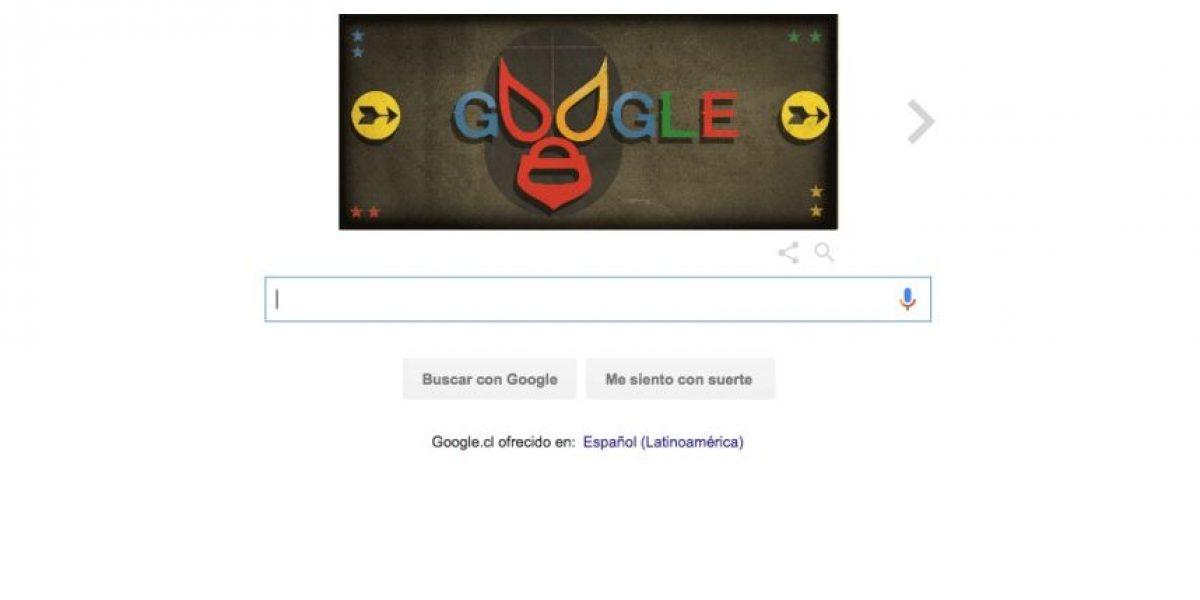 Un grande de la lucha libre: con este doodle Google celebra el 99° natalicio de El Santo