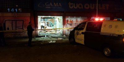 Alunizaje frustrado en plena Vicuña Mackenna terminó con balacera y heridos