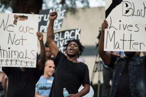 Las escenas que dejó la segunda noche de manifestaciones en Charlotte Foto:Getty Images. Imagen Por: