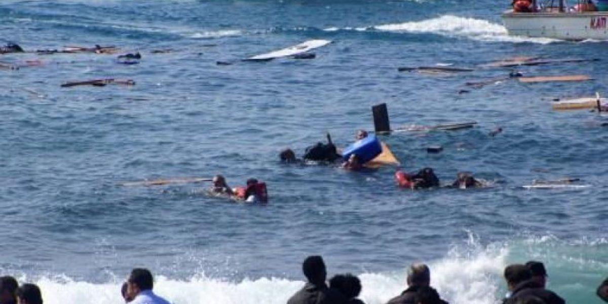 Más de 100 muertos deja naufragio de barco de emigrantes en las costas de Egipto