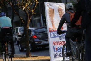 Propaganda electoral elecciones municipales 2016 Foto:AgenciaUno. Imagen Por: