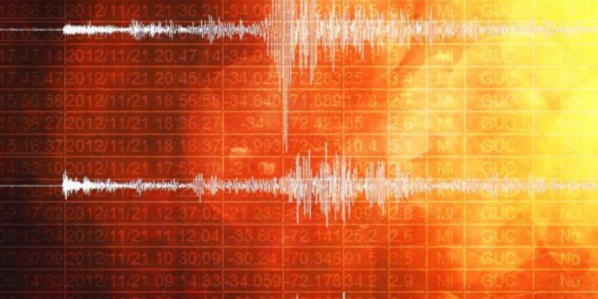 Sismo sobre 5 Richter se produjo en el norte del país