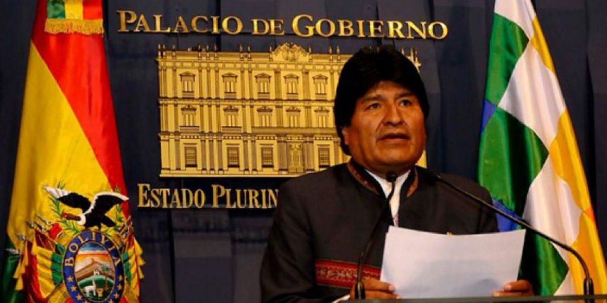 Evo Morales rechaza dichos de canciller Muñoz y señala que Chile no quiere dialogar