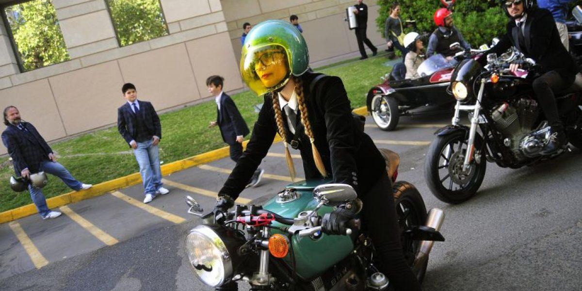 Motoristas elegantes se unen en Chile a campaña contra el cáncer de próstata