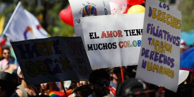 Marcha por la diversidad sexual tuvo como consigna el matrimonio igualitario y los derechos filiativos