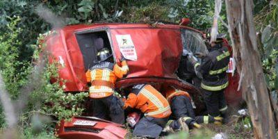Accidente en la Autopista del Sol deja un muerto y un herido