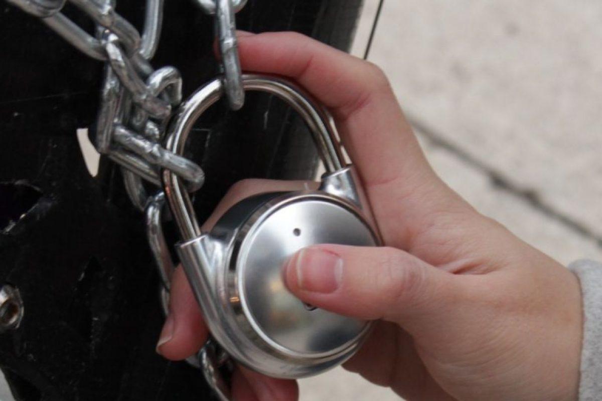 El candado TappLock utiliza tu huella dactilar para mantener tus pertenencias a salvo. Foto:TappLock. Imagen Por: