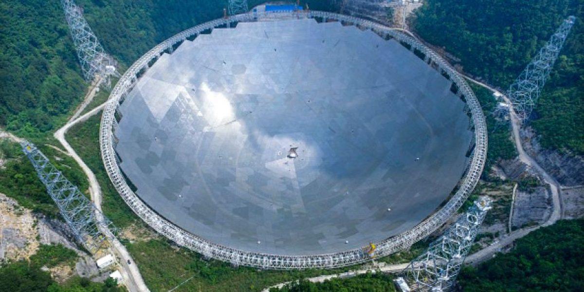 China confirma puesta en servicio del mayor radiotelescopio del mundo