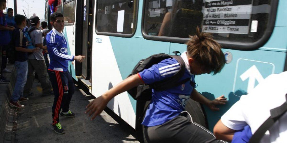 Choferes del Transantiago amenazan con movilizaciones ante falta de seguridad por el Superclásico