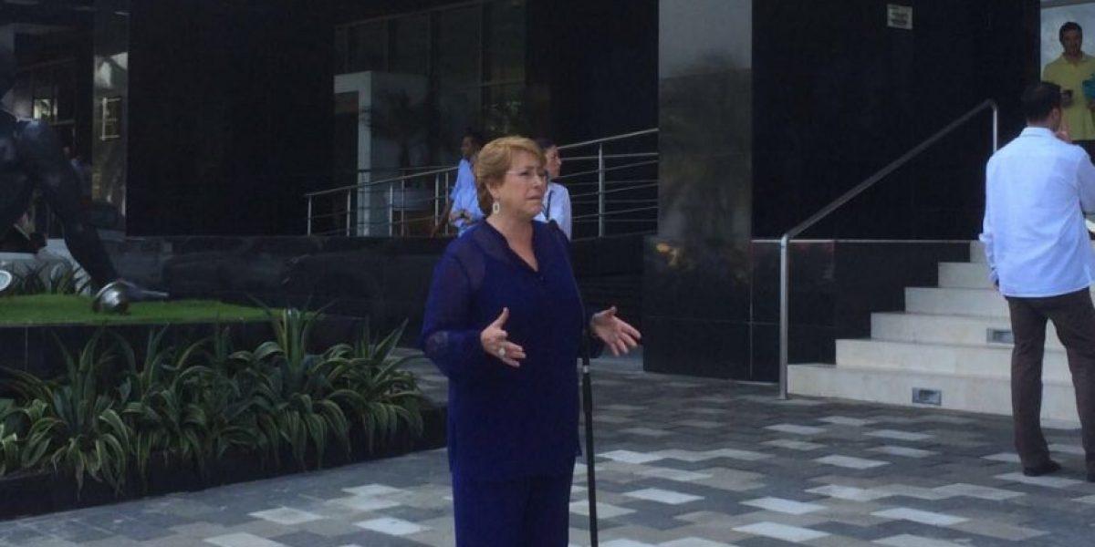 """Bachelet por acuerdo de paz entre Colombia y las FARC: """"Reconciliación no es sinónimo de olvido"""""""